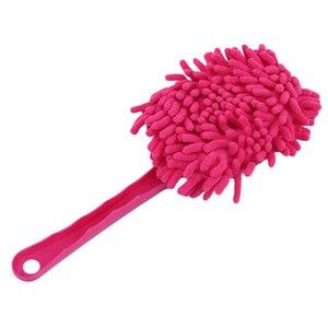 Image 5 - Punho plástico ultrafine pano de limpeza eletrostática adsorção carro poeira limpeza escova ferramentas lavagem do carro
