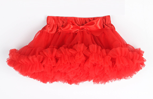 2017 Kids Baby Girl clothes Up Fairy Princess Party Tutu Layers Petticoat Ballet Pettiskirt Children fluffy Skirts Free Shipping