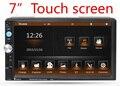 Новый 2 Дважды Дин Dvd-плеер Автомобиля Стерео Видео Мультимедиа Универсальный Головное устройство Двойной BT MP3