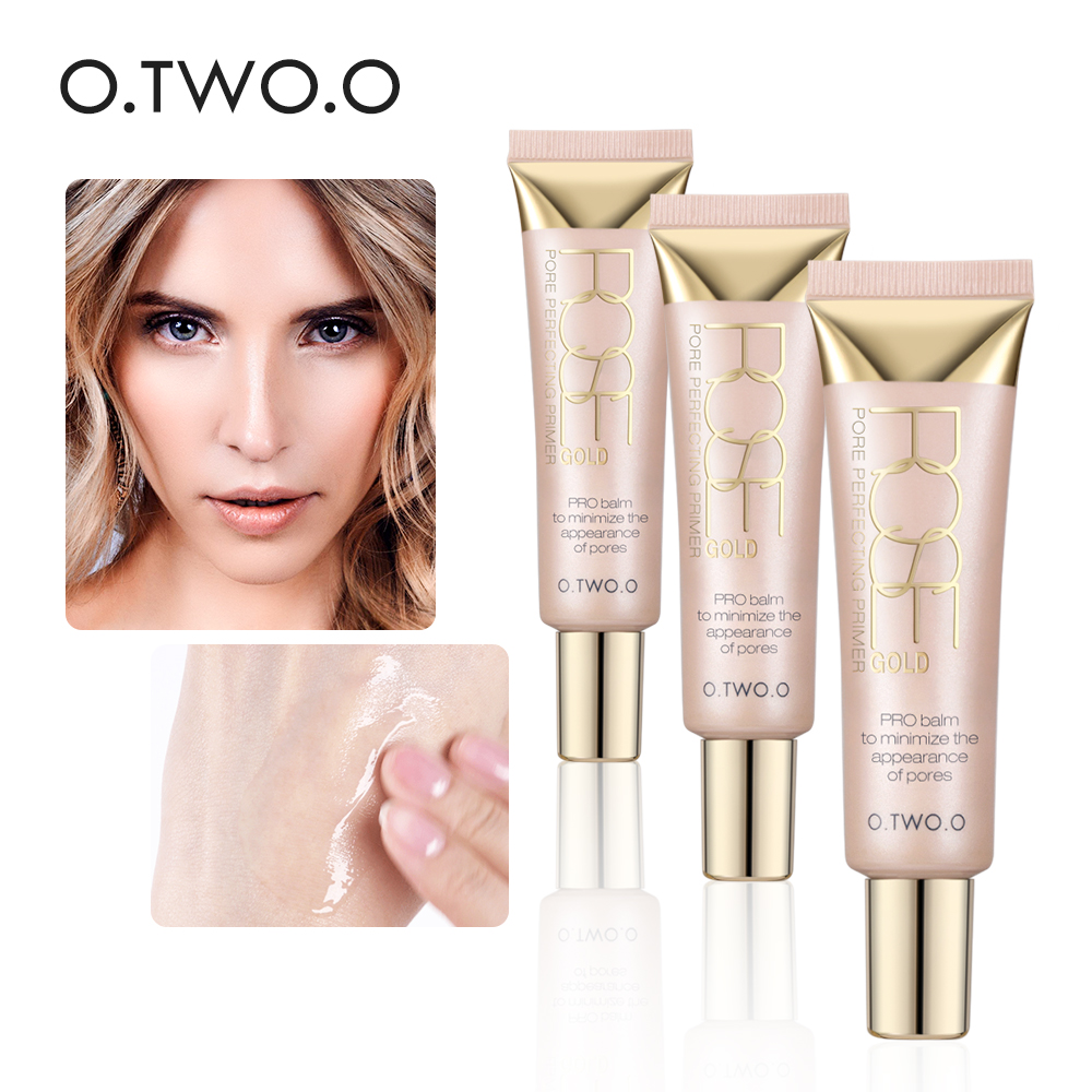 O.TWO.O Profesional Make Up Base Foundation Primer Makeup Krim Tabir Surya Pelembab Kontrol Minyak Wajah Primer