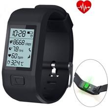 2017 новые браслеты часы hesvit G1 браслет Поддержка сердечный ритм pessometer Sleep Monitor напоминание для Android и IOS Телефон