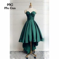2018 New Arrival Teal Homecoming Dress Short Sweetheart Cocktail Party Dress Pleat Draped Satin Short Homecoming