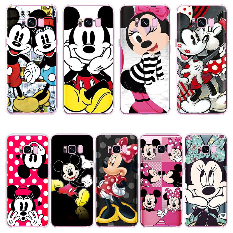 Cartoon Pattern Soft Cover For Samsung Galaxy Note 9 5 8 J7 J1 J2 J3 J4 J5 J6 Plus Duo Max Pro Prime J8 2018 2015 2016 2017 Case image