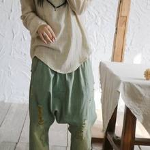 Yoyikamomo 2017 mujeres Camisa de algodón de lino color puro Camisas manga  larga suelta tamaño grande mujeres camiseta d7b1962d0f1f