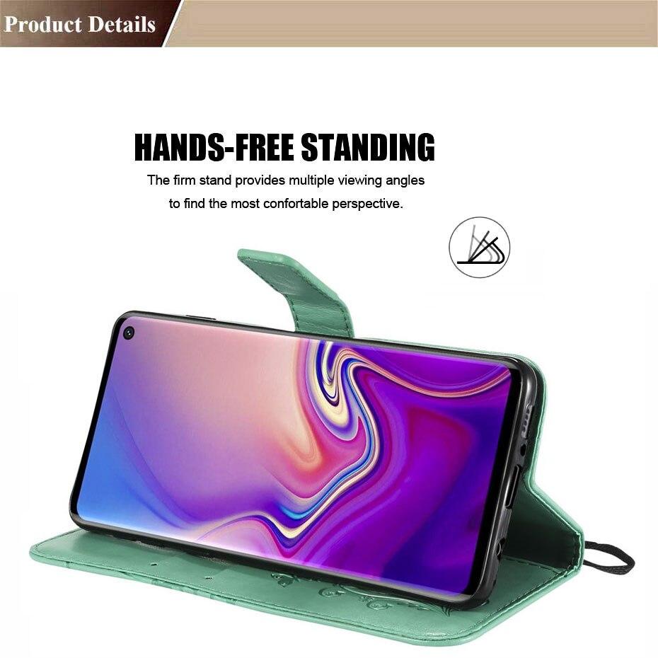 Original Official Case For Samsung galaxy J3 J5 J7 2017 J4 plus J6 Prime 2018 J330 J530 J730 J310 J510 PU Leather Phone Cover in Flip Cases from Cellphones Telecommunications