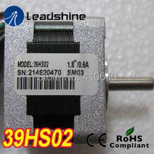цена на Free Shipping GENUINE Leadshine step motor 39HS02 High Performance 2 Phase NEMA 16 Hybrid Stepper Motor with 0.22 N.m torque