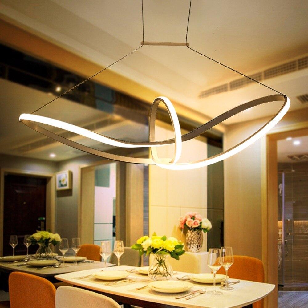 LED pendant lights lamparas de techo colgante moderna suspension ...