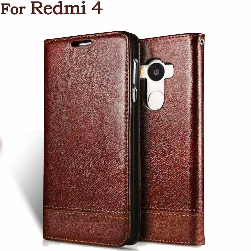 For Xiaomi Redmi 4 Case Redmi 4 for Xiaomi Redmi 4 Pro Prime PU Leather Flip Phone Cover Cases Protective Cover Back Bags 5 inch