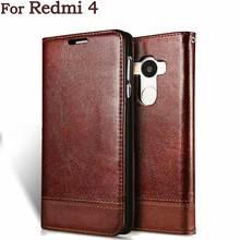 Для Xiaomi Redmi 4 Чехол редми 4X для Xiaomi Redmi 4 Pro премьер искусственная кожа флип чехол телефона Случаи Защитная Задняя крышка сумки 5 дюймов