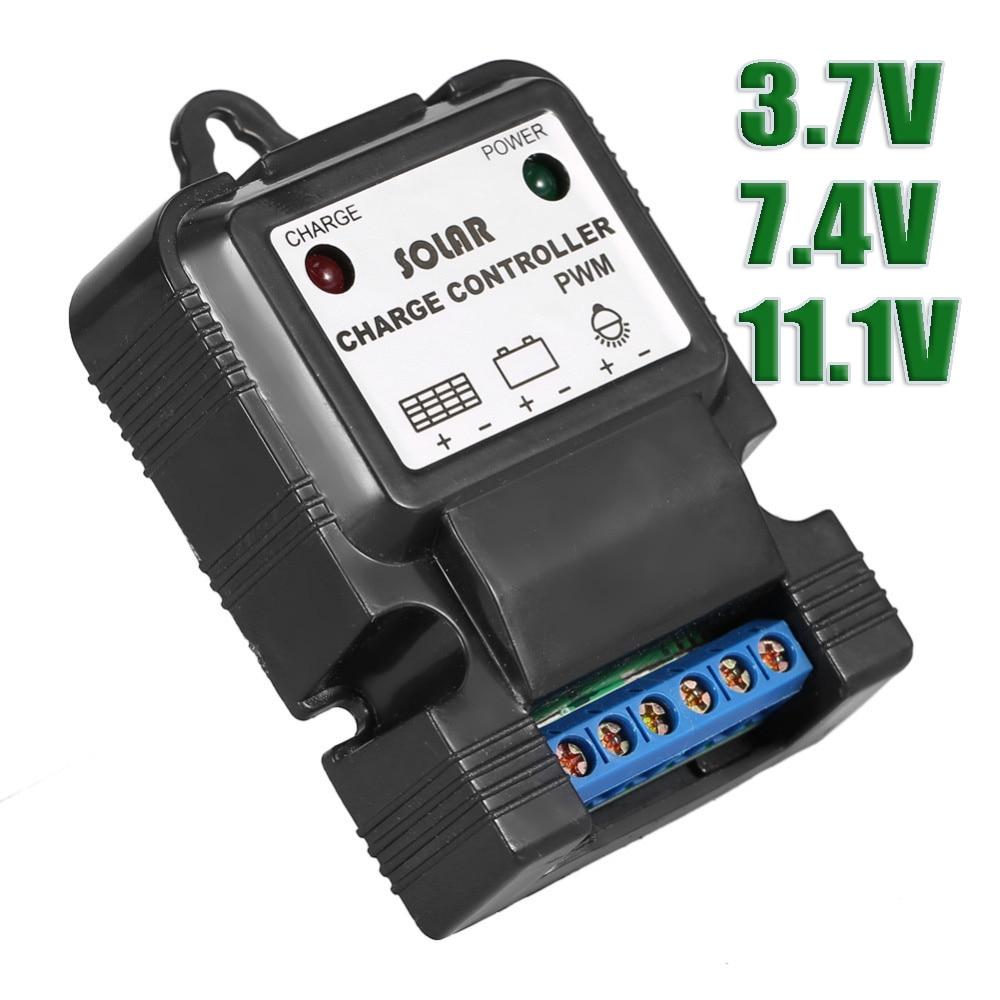 3 7v 7 4v 11 1v 3a Solar Cell Panel Charge Controller For