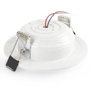 Image 4 - (10 יח\חבילה) RGB 10W 5W LED פנל אור עם שלט רחוק שקוע תקרת מנורה מקורה קישוט צבעוני בית אור