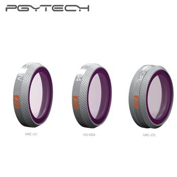 PGYTECH zaawansowany filtr UV CPL ND4 dla DJI Mavic 2 Zoom zaawansowana wersja filtr dla Mavic 2 Zoom akcesoria do dronów w magazynie tanie i dobre opinie abay For Mavic 2 Zoom 7*6 25*2cm