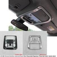 Voor Chevrolet Equinox Derde GE 2017 2018 2019 auto styling cover detector sticks voor head lezen leeslamp lamp trim moulding