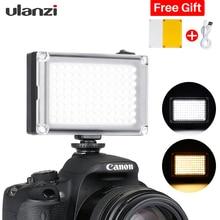 Ulanzi 96 LED on-Camera Mini Video Panel Photo Light with 2500mAh Battery/Filters Set for Canon Nikon Sony DSLR Camcorders