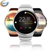 GFT kw18 Neueste Bluetooth Smart Uhr Mit Sim-karte Smartwatch Für Apple Samsung mann business stil mit pulsmesser