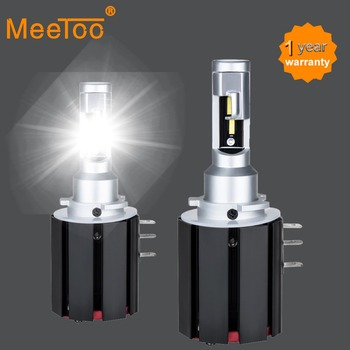 H15 LED Car Headlight Bulb 6500K White 12V Real Power 48W 5600Lm LED H15 Lamps For Cars No Error For Volkswagen/Audi/BMW IP67