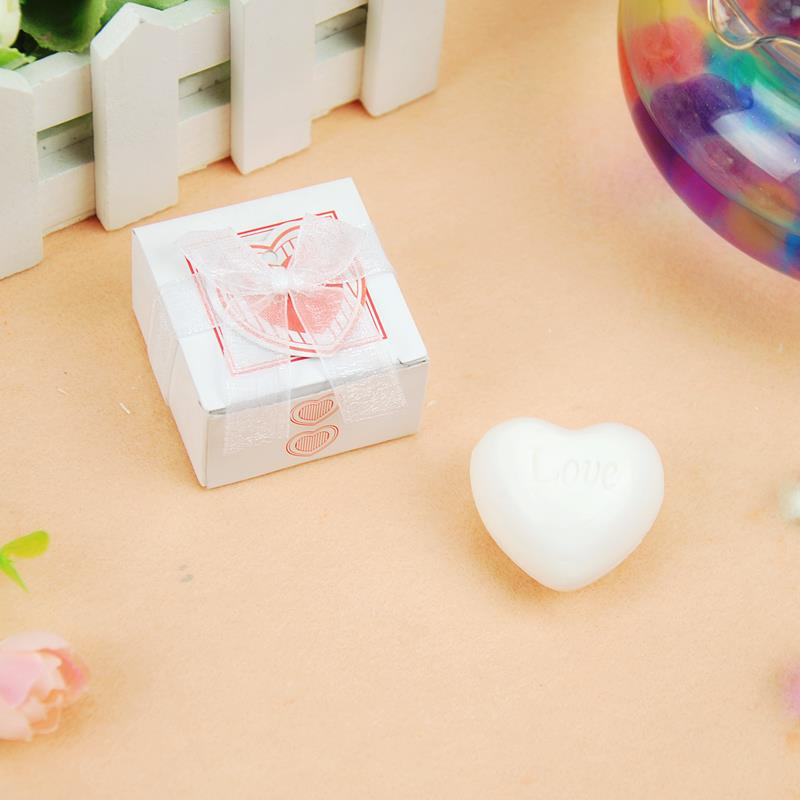 20pcslot heart style perfume soap wedding favor souvenir for marriagechina mainland