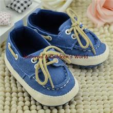 2016 Baby Boy Blue With Shoes Loafers Single Shoes With Soft Bottom