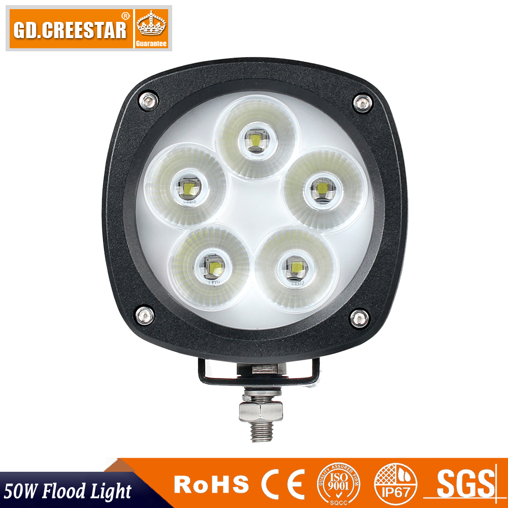 50W Compact LED Flood Light Generation 2 TL500F For John Deere AT305931 AT443224 AT443223 AT135486 AT135485