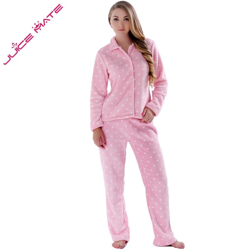 Outono Inverno Pijamas Quentes Mulheres Pijamas Conjuntos de Pijama de Lã Feminino Plus Size Casa Ternos Pijamas de Sono Lounge Para Mulheres Adultos