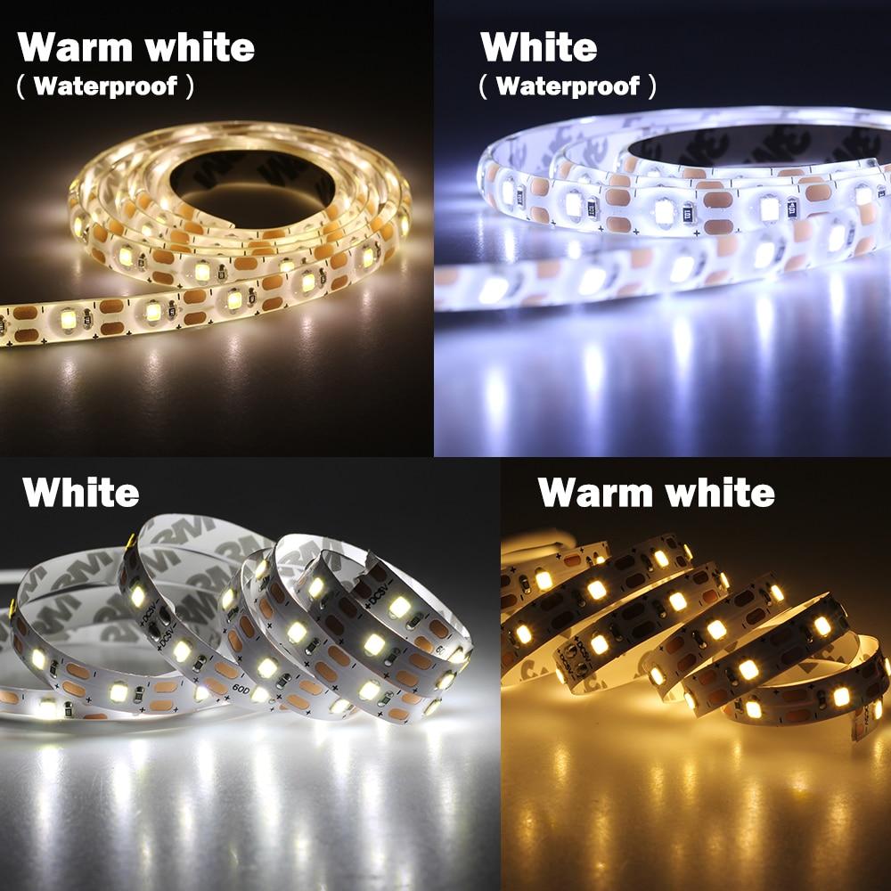 Tiras de Led m/2 m conjunto fita flexível Especificações (pontos de Luz / M) : 60leds/m