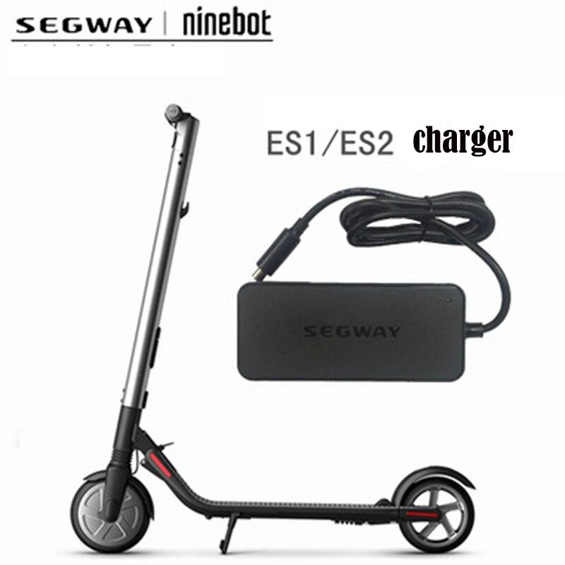 Chargeur de Scooter électrique Original adaptateur US pour Xiaomi Mijia M365 Ninebot Es1 Es2 Kick Scooter chargeur d'alimentation de planche à roulettes