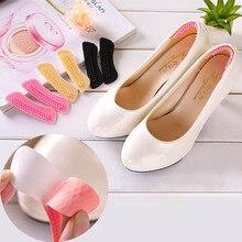 Невидимые 3D силикагелевые силиконовые Высокие каблуки Мягкие клейкие подушечки протектор для ног Уход за ногами обувные вкладыши стельки наклейки