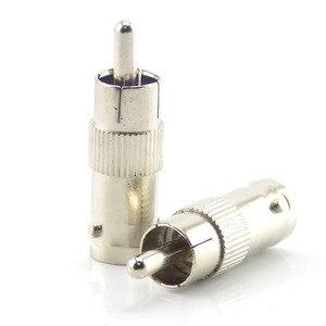 Image 3 - 2/5/10 sztuk Splitter przejściówka Adapter Rca złącze Bnc żeńskie do złącze Rca męski łącznik do kamery Cctv Rg59 kabel