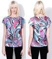 women's elegant print shirt slim  Beautiful and fashionable