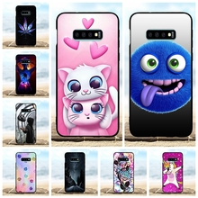 For Samsung Galaxy S10e Case Soft TPU Silicone For Samsung Galaxy S10e G970F Cover Cartoon Pattern For Samsung Galaxy S10e Shell