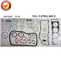 Engine Full Gasket Set Kit For Isuzu 4HF1 5 87811 869 2