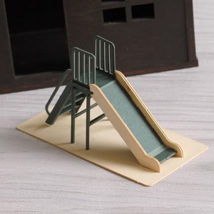Easy Paper Craft For Kids,Paper 3D Mini Children's Slide ...