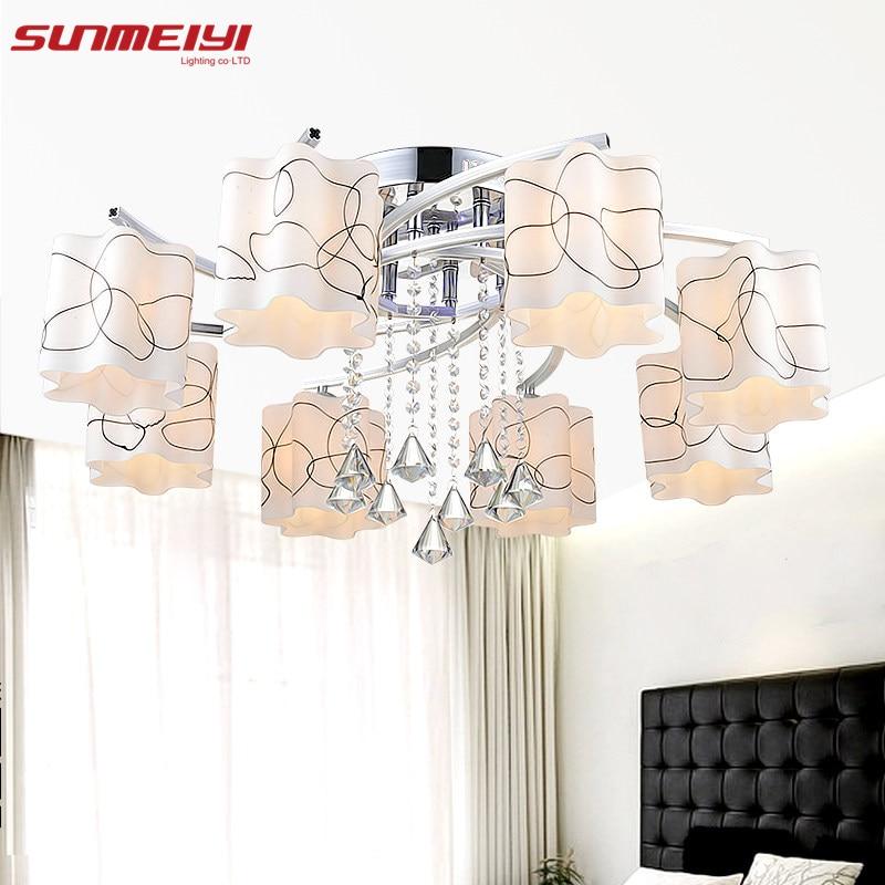 New Ceiling Lights Indoor Lighting LED Luminaria Abajur Modern Led Ceiling Lights for Living Dining Room