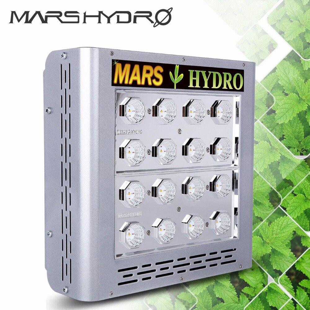 Mars Pro II Epistar 80 LED Grow Light Panel Hydroponics Full Spectrum Veg Flower ...