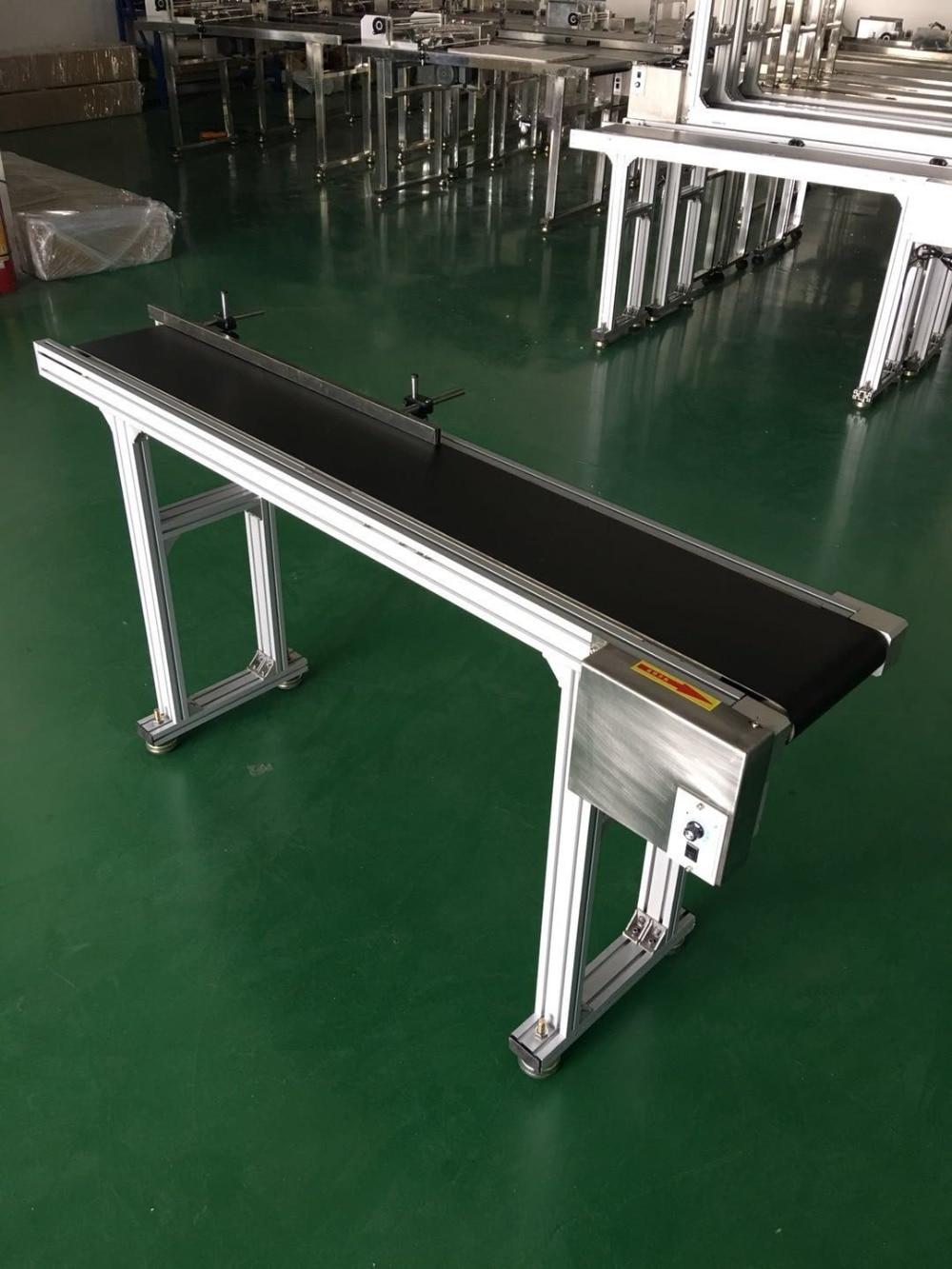 Inkjet coding printer Stainless Steel/ Aluminum Bottle Conveyor Belt/Box/Bag/Sticker, 200 mm Width, 5-30 m/min Adjustable