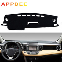 APPDEE Apto Para Toyota RAV4 XA40 2013 2014 2015 2016 2017 2018 Dashmat Dashboard Mat Pad Capa Sun Sombra tampa do painel de Bordo Ca|Tapete anti-sujeira p/ carros| |  -