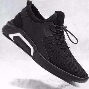 Image 4 - ファッションメンズカジュアルとビジネススニーカーすべりにくいスポーツ靴軽量快適な通気性ウォーキングスニーカー