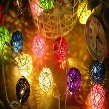 ball type led lights decoration san valentin luces led decoracion fairy lights merry christmas guirlande lumineuse led light