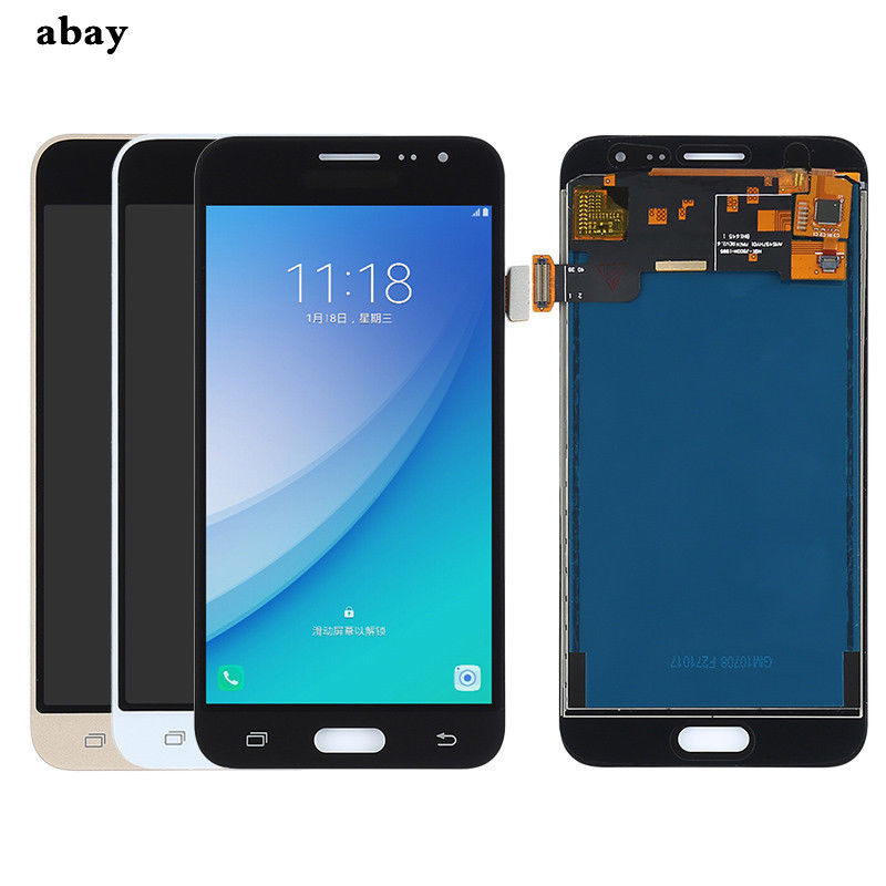 Sobusy Phone LCDs For SAMSUNG GALAXY J3 2016 J320 J320F SM-J320F LCD  Display Touch Screen Digitizer Assembly Tela Replace Parts
