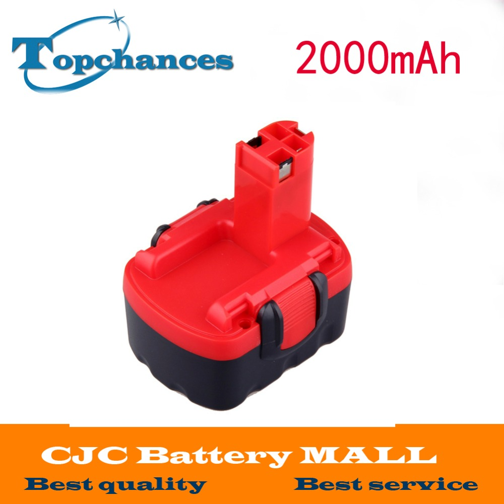 New2000mAh <font><b>14.4V</b></font> Replacement <font><b>battery</b></font> for BOSCH GHO GLI GSB VE-2 VPE-2 GST GWS Jan-54 13614 13614-2G 15614 1661 22614 23614 32614 image