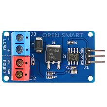 Module Mosfet, module de commutation Mosfet à courant élevé, pilote de ventilateur cc, moteur, LED bandes, pilote vitesse, pour Arduino