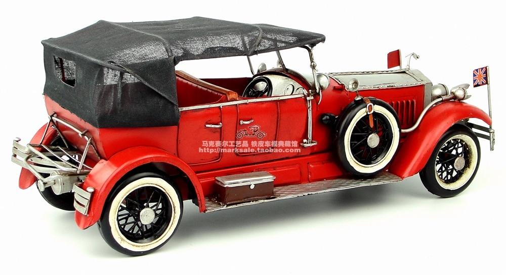 Hot Classic 1907 British Rolls Royce Vintage Car Model Creative Mini ...