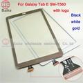 Tela de toque original para samsung galaxy tab e 9.6 sm-t560 t560 t561 digitador da tela de toque de vidro painel parts