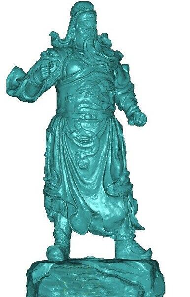 Nieuwe Collectie 3d Model Huis Stl Relief Voor Cnc Machine Stl Bestand Formaat Guan Yu_1 Om Digest Greasy Food Te Helpen