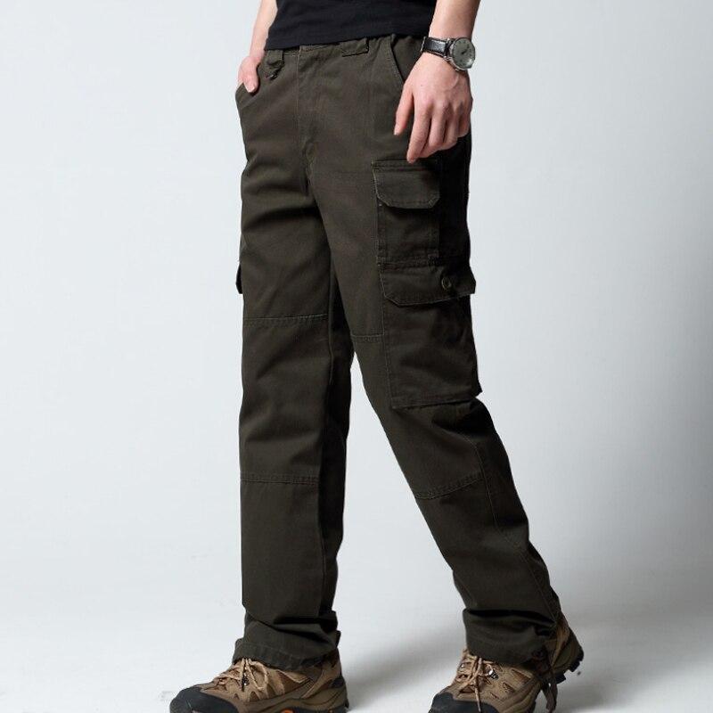 YFF Hommes Bottes d'hiver bottes de neige en coton cuir synthétique ,chaud velours armée,6