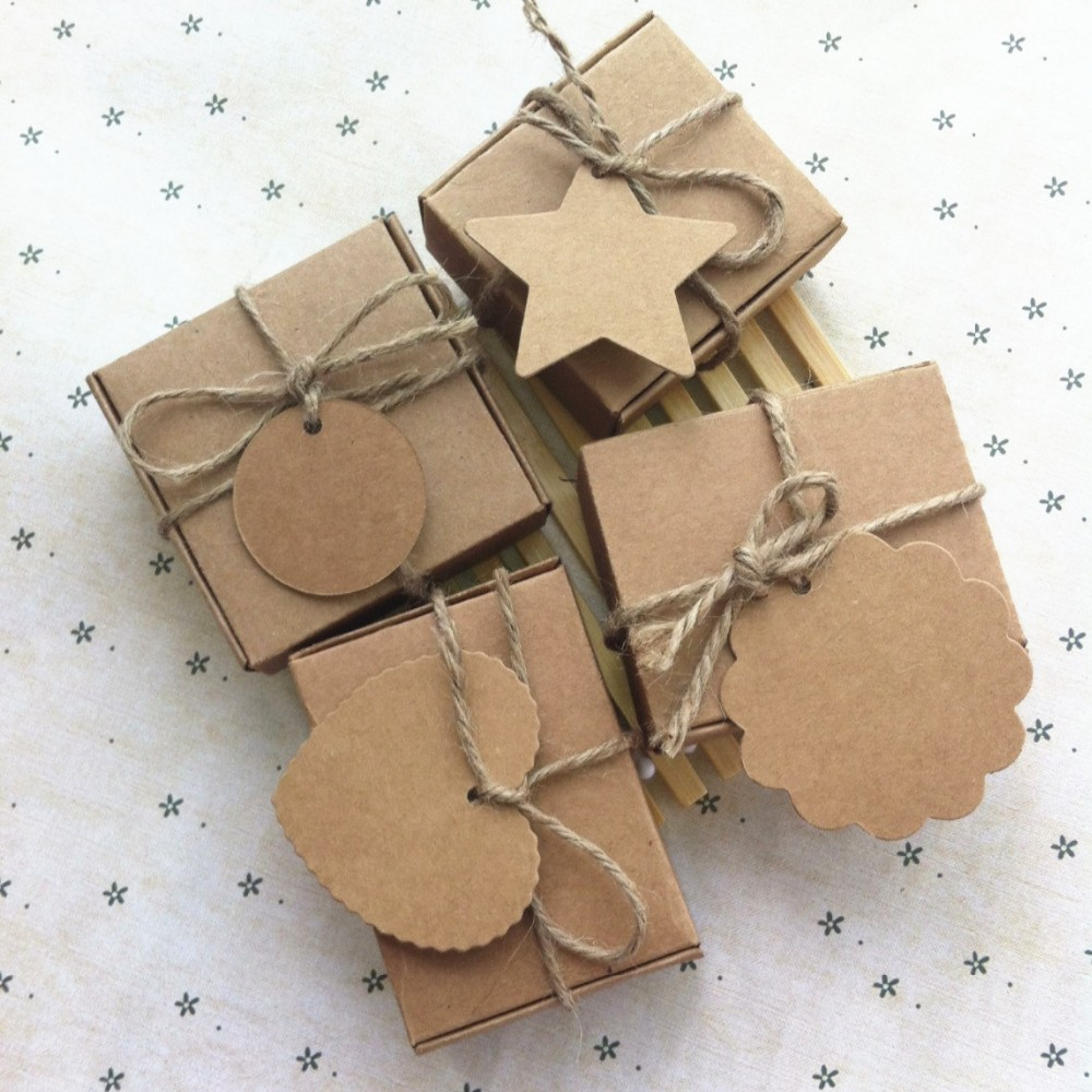 6.1X7.6X2.6cm hot sell kraft gift paper boxes packaging handmade soap food packaging,good for gift! more size in shop