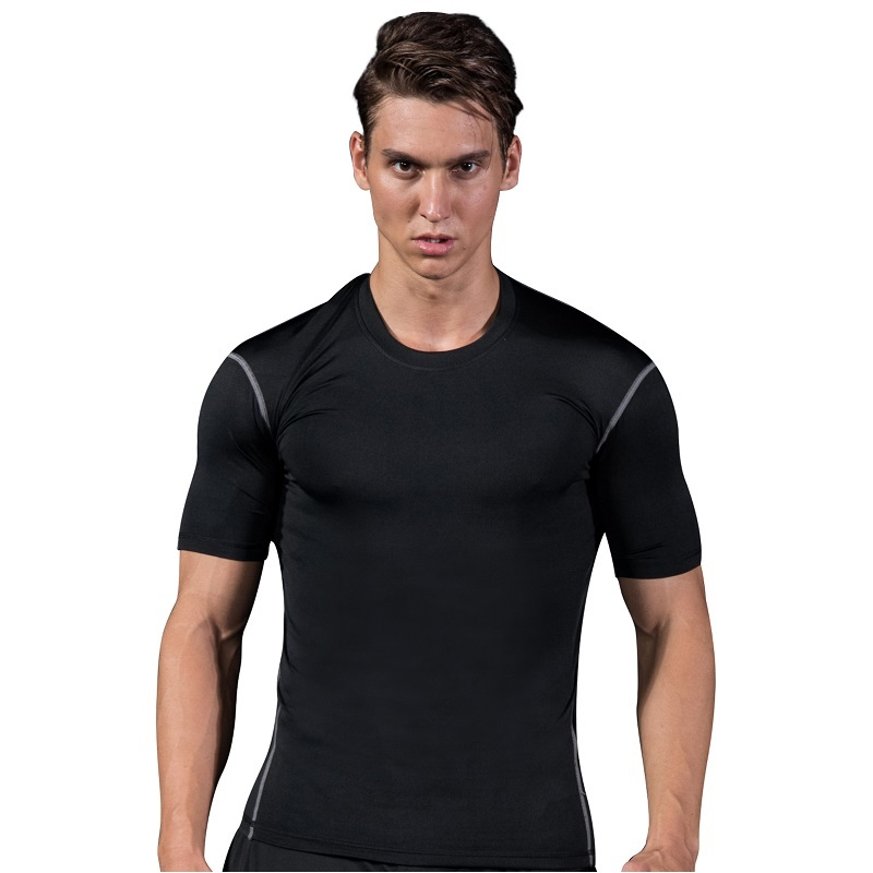 Men Tennis clothing male Fitness Run jogging Outdoor sport workout badminton Quick-dry t shirt Short Sleeve Table tennis clothes