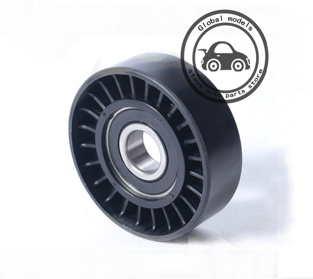 small resolution of tension roller drive belt idler pulley for mercedes benz a150 a160 a170 a180 a200 a220 a250 b150 b160 b170 b180 b200 b220 b250 in belts pulleys