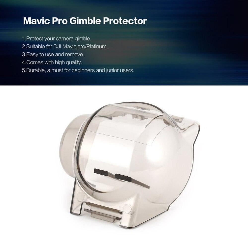 Transparent Camera Lens Shield Protector Gimble Protective Cover Hood Cap Case For RC DJI Mavic Pro/Platinum Drone Parts