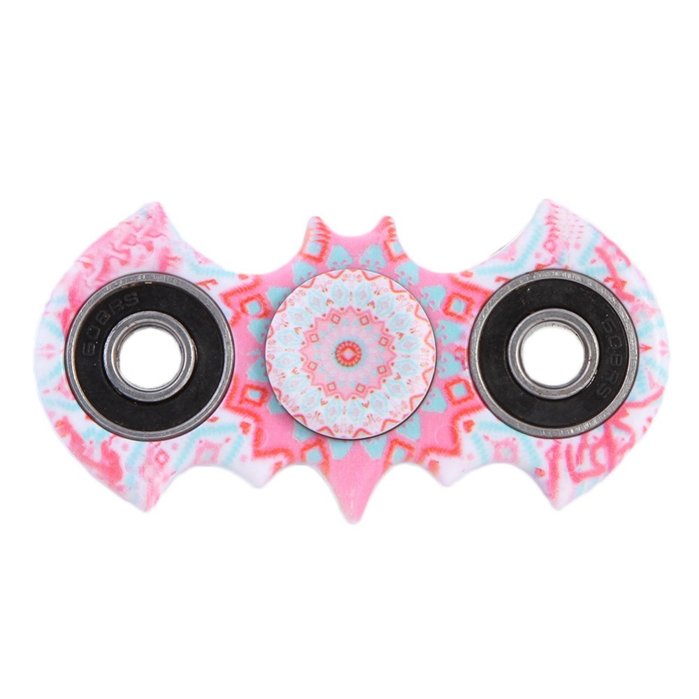 2017 Batman Finger spinner Plastic Bearing Toys Copper For Autism ADHD Anxiety Stress Relief Fidget Toy Funny Spinner